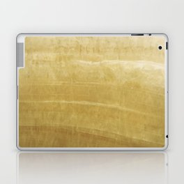 Soft Gold Marble Laptop & iPad Skin