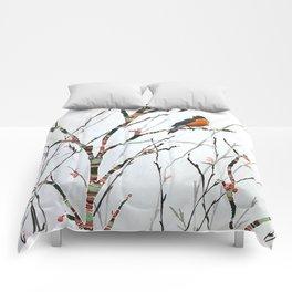 Harbinger of Spring Comforters