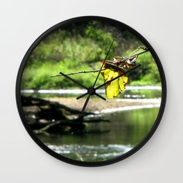 Peaceful Waters Wall Clock