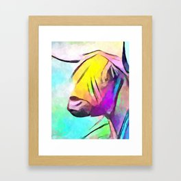 Highland Cow 2 Framed Art Print