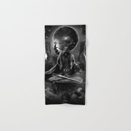 I. The Magician Tarot Card Illustration Hand & Bath Towel