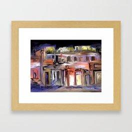 South Houses Framed Art Print