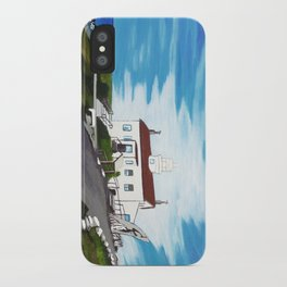 Battery point Lighthouse ( Crescent City, CA ) iPhone Case