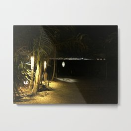 Beach Nights Metal Print