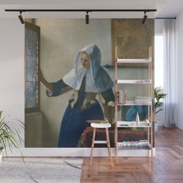Johannes Vermeer - Woman with a Water Jug Wall Mural