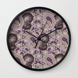 Purpified Wall Clock
