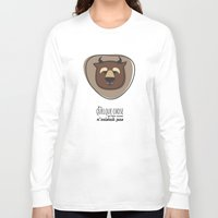beauty and the beast Long Sleeve T-shirts featuring Beauty and the Beast by Jane Mathieu
