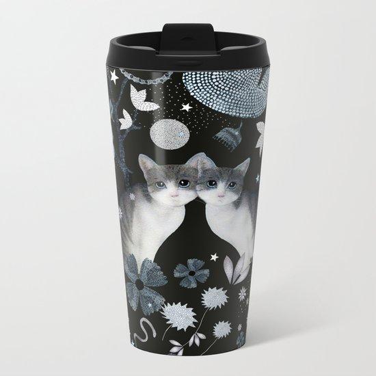 dream cats Metal Travel Mug