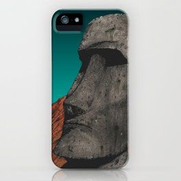 Easter Island 1 iPhone Case