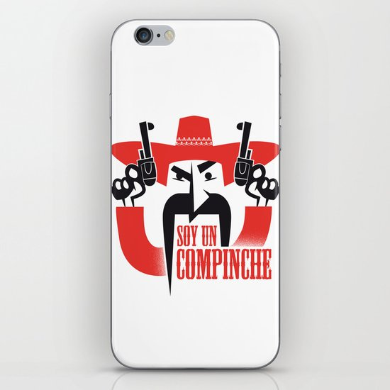 Soy un compinche iPhone & iPod Skin