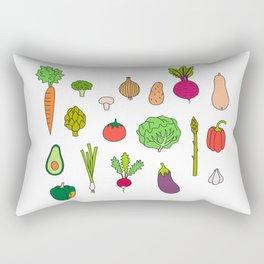 Veggie Wedgie Rectangular Pillow