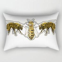 Beeman Logo Rectangular Pillow