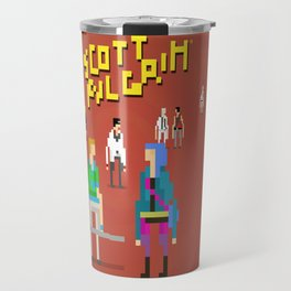 Pixel Art Scott Pilgrim Travel Mug