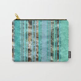 Blue & Wood Carry-All Pouch