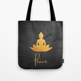 Gold Buddha 3 Tote Bag