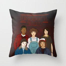 Unusual Stuff Throw Pillow