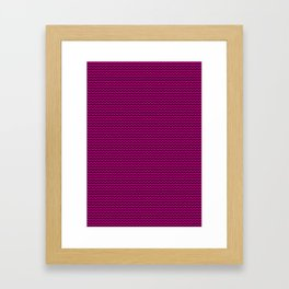 Lines pattern Framed Art Print