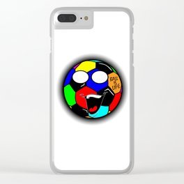 Ball Is Life 3 Clear iPhone Case