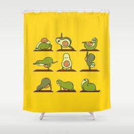 Strengthen My Avo- Coredo Shower Curtain