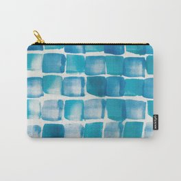Ocean blue blocks Carry-All Pouch