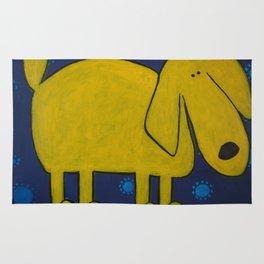 Yellow Dawg Rug