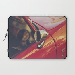 Red supercar photography, Triumph spitfire, original english car, classic sports auto Laptop Sleeve