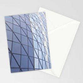 The Gherkin Abstract  Stationery Cards
