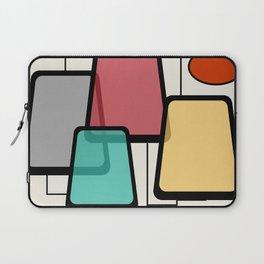 Mid-Century Modern Art Landscape 1.1 Laptop Sleeve