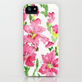 Glad In  Pink iPhone Case