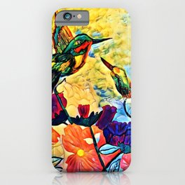 A Hummer Of A Summer Day iPhone Case