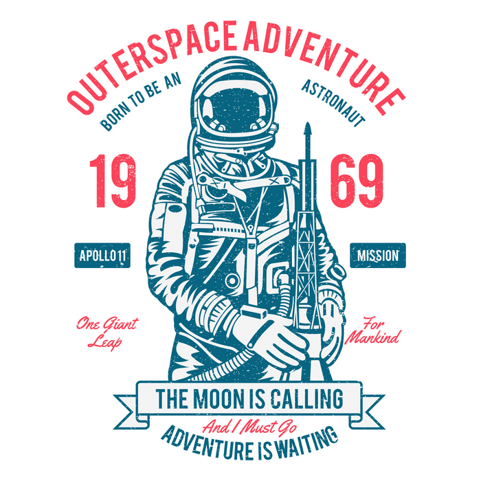 Outer space Adventure - Born to be an astronaut Comforters