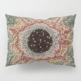 Green iris Pillow Sham