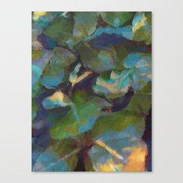 Dappled #botanical #nature #watercolor #society6 Canvas Print