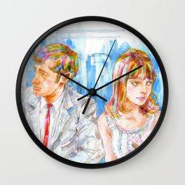 Cinema2 - Pierrot Le Fou Wall Clock