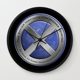 X-Men: First Class: Xavier Institute For Higher Learning Wall Clock