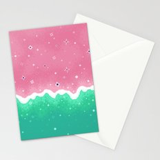 Summer Sweets: Watermelon Galaxy Stationery Cards