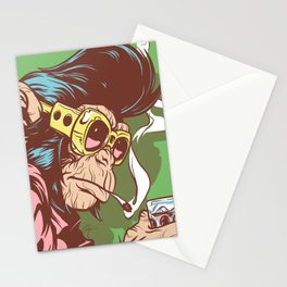 Knuckle Dragger Stationery Cards