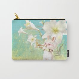 Blooming Lily Carry-All Pouch