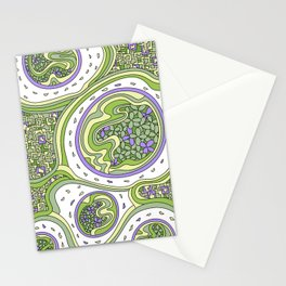 Wandering 06: color variation 3 Stationery Cards