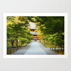 Nanzenji Temple in Kyoto, Japan Art Print
