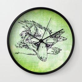 NV: Keer: green Wall Clock