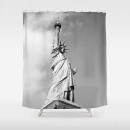 Lady Liberty - NYC Shower Curtain