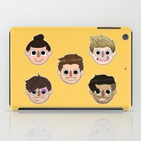 animal crossing iPad Cases featuring Animal Crossing One Direction by Pinkeyyou