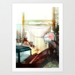 Clinical Infection Art Print
