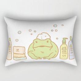 Shampooing Demonstration Rectangular Pillow