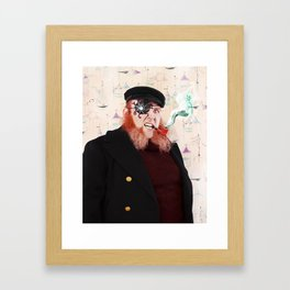 Captain Lazarus Framed Art Print