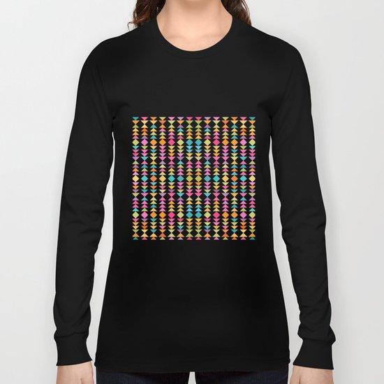 Lovely geometric Pattern VVII Long Sleeve T-shirt