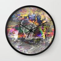 pooh Wall Clocks featuring Pooh Reconsidered by Heidi Fairwood