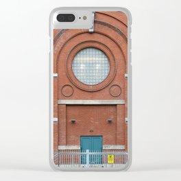 A Big Round Window Clear iPhone Case