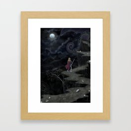 A Perilous Quest (and the Sword is Drawn) Framed Art Print